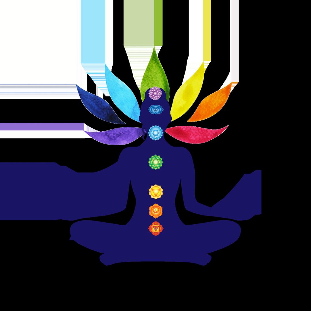 Logo méditation chakras Isabelle Dang-Tran sans fond